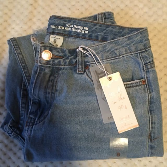 Mom Jeans - Size 9 (fits size 3)