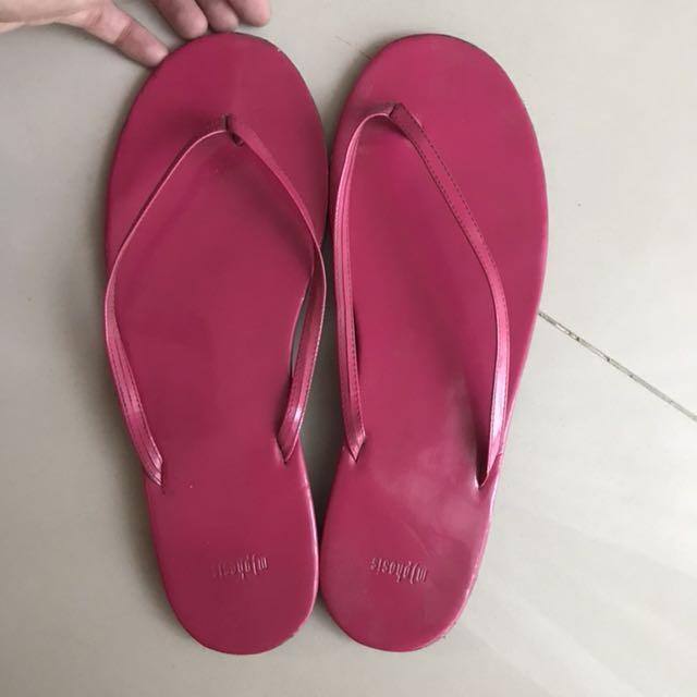 M|phosis sandal pink patent