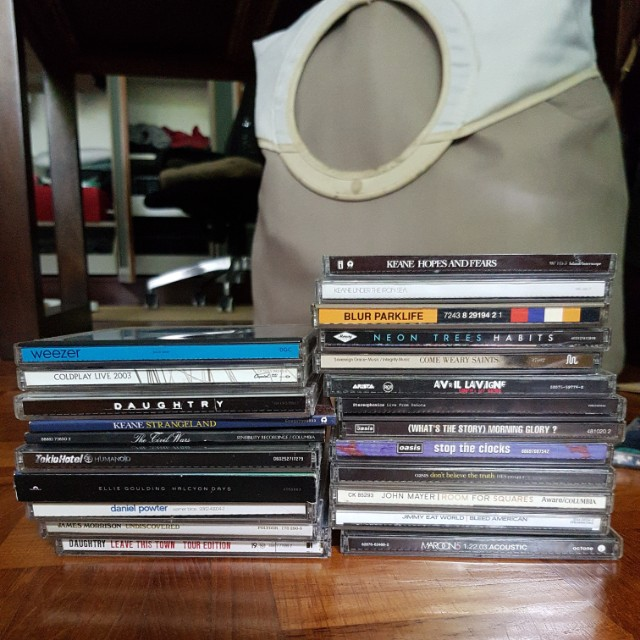 Music CDs : pop, rock, everything