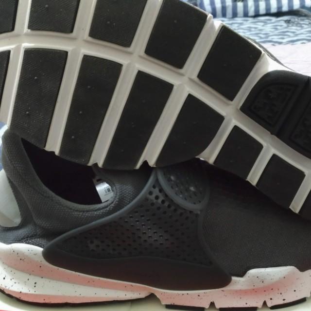 NIKE 襪套 輕量 慢跑鞋 耐操 灰 US 13