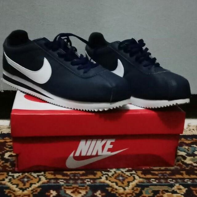 Nike Cortez Leather Midnight Navy