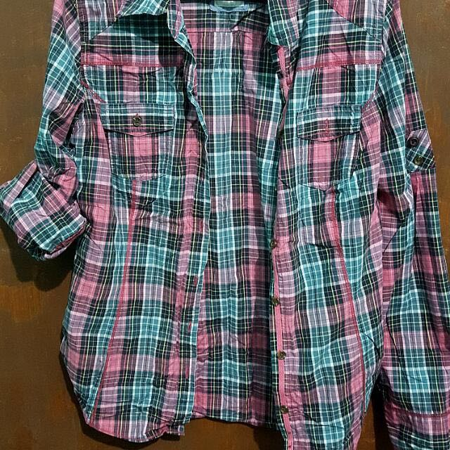 Old Navy Checkered Long Sleeves