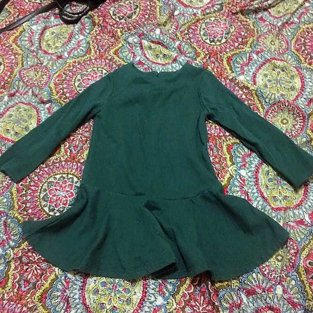 Old Navy Green Blouse 3T