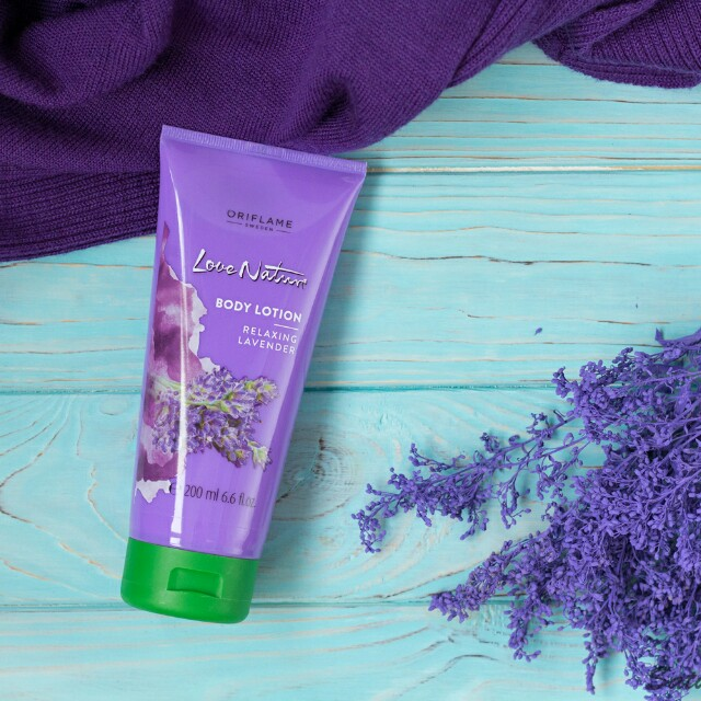 Oriflame Body Lotion (Relaxing Lavender)