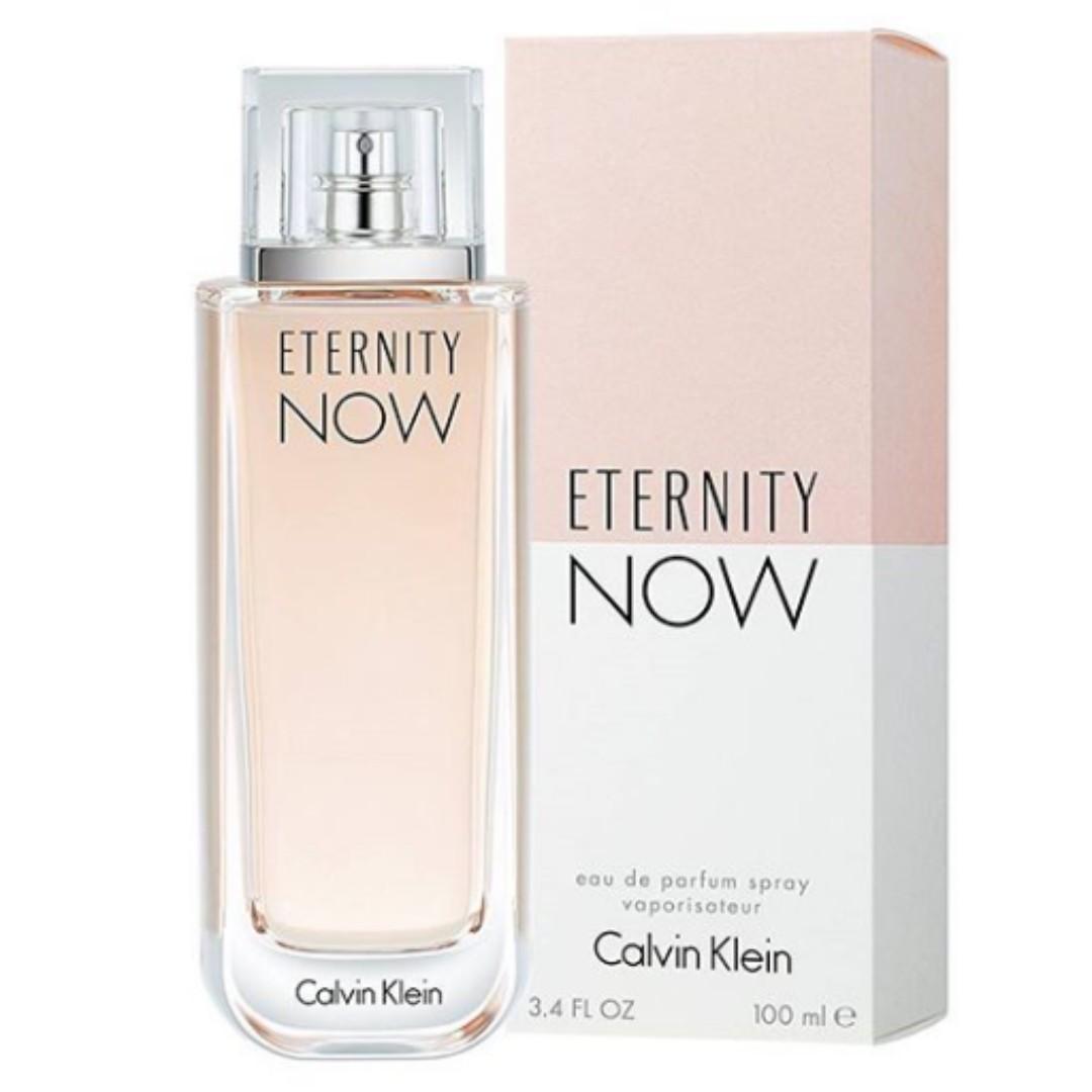 Original Calvin Klein Eternity Now Edp 100ml Perfume For Women
