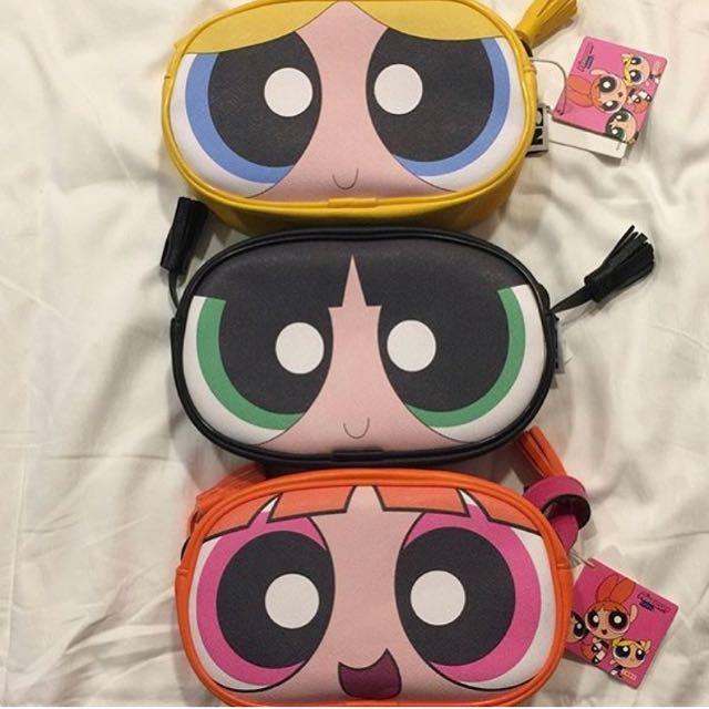 Power puff girls blossom sling bag