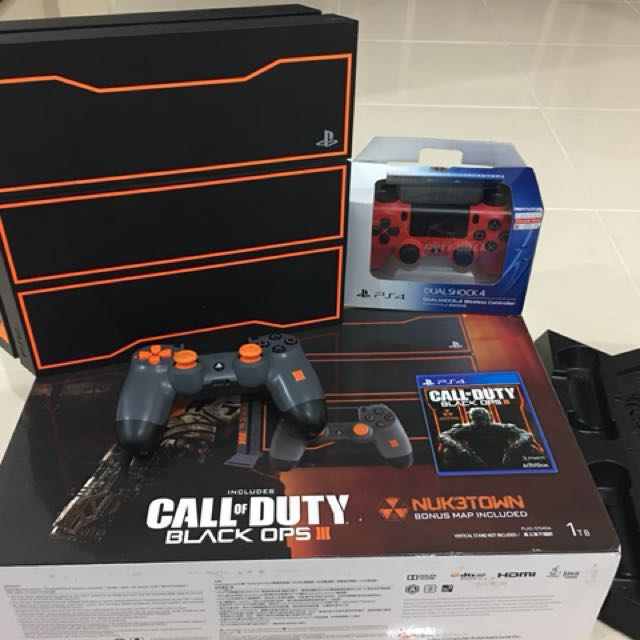 53fccb74a6f62 PS4 Console 1TB Bundle Call Of Duty  Black Ops III Edition (Limited ...