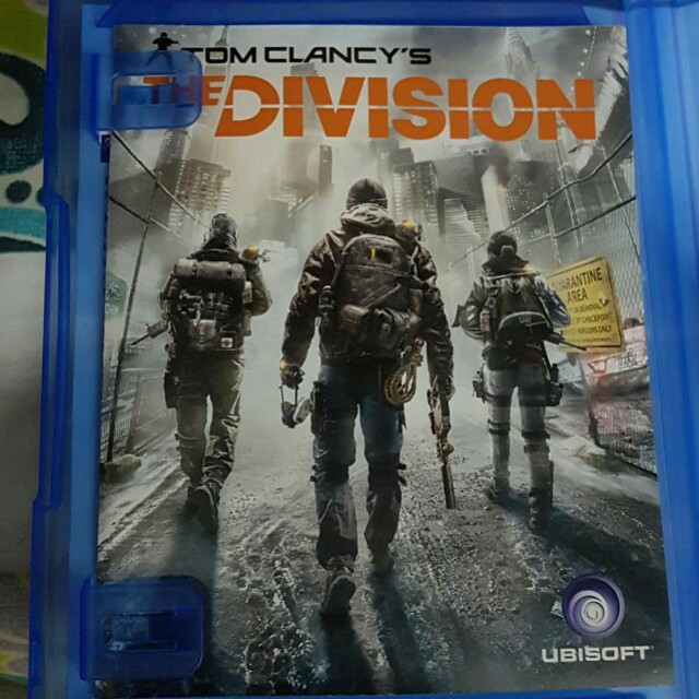 PS4 The Division Orig Legit CD