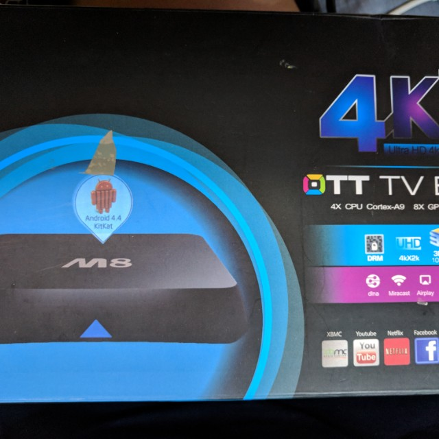 Rare M8 Android tv box w/ root access for sale!