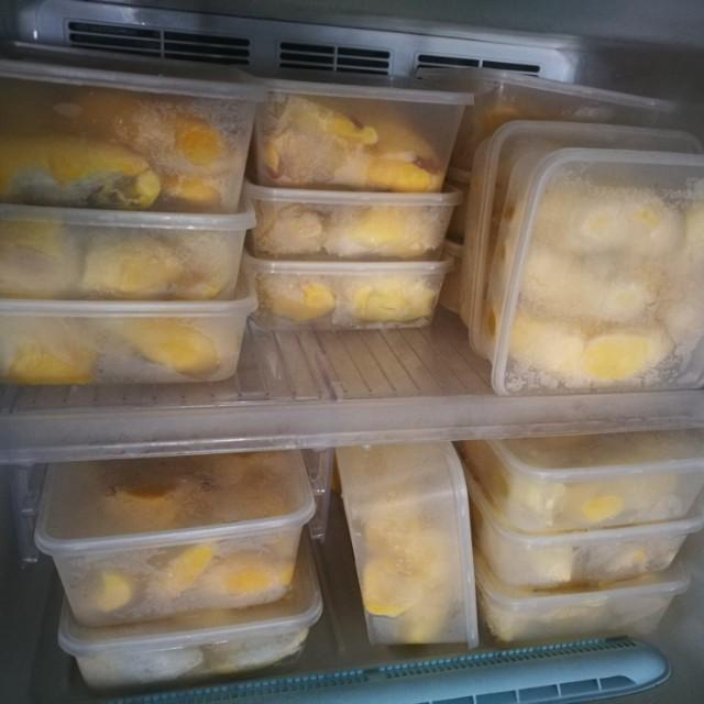 Raub Frozen Musang King Durian 500g