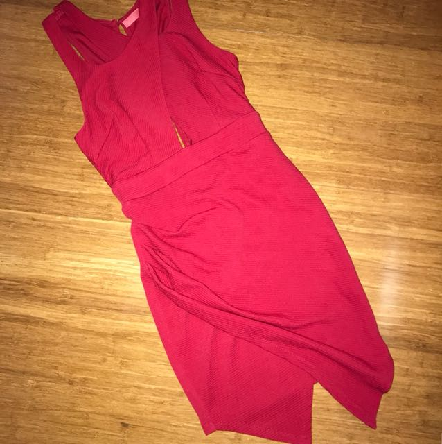 Red Going Out Dress