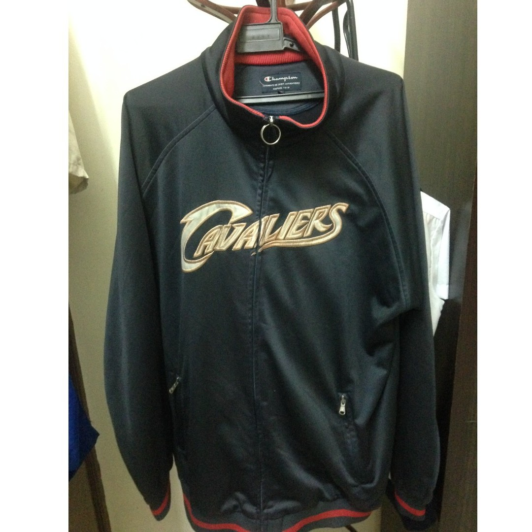86ccdd4ccfcf Retro Cavaliers LeBron James NBA X Champion Track Jacket