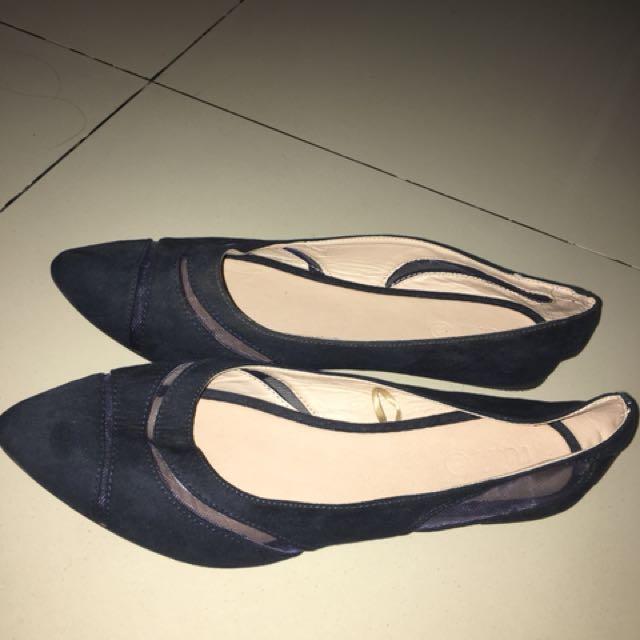 Rubi Flatshoes Navy Size 41