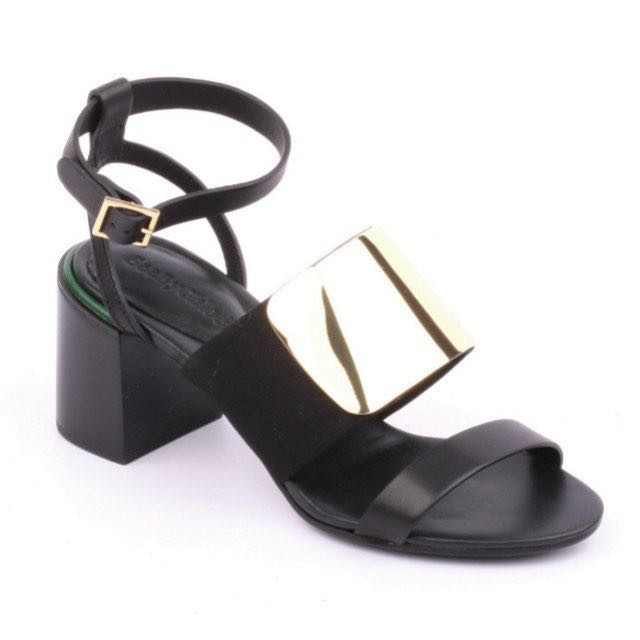 See by Chloe block heel sandal