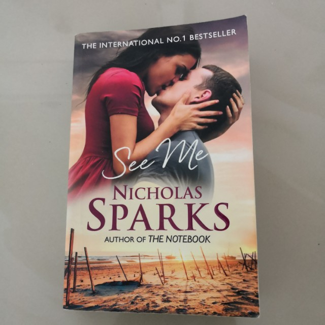 Book: See Me by Nicholas Sparks