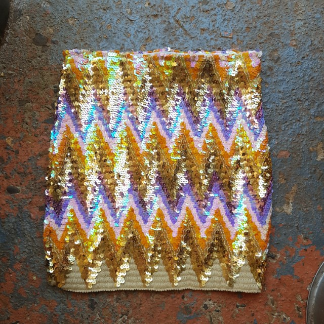Sequined Skirt Size 8