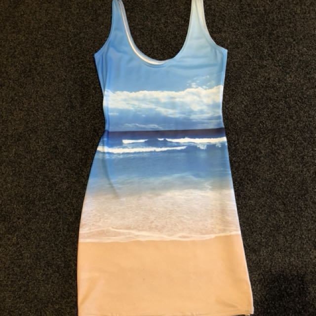 Size XS Beach Black Milk Clothing Dress
