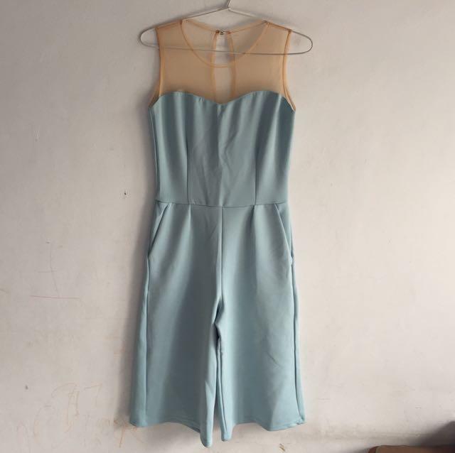 Sky blue jumpsuit
