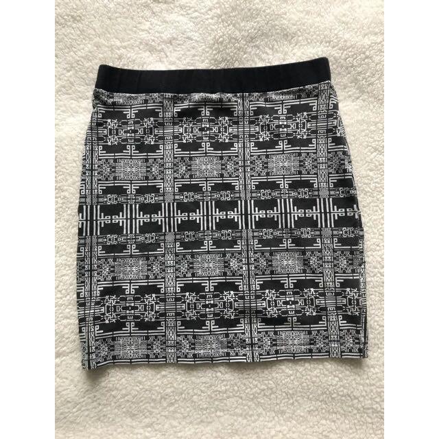 Sportsgirl Patterned Skirt Size XS