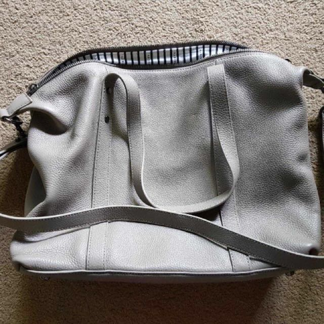 Status Anxiety - Love and Lies Bag (Grey)