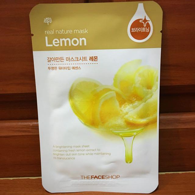 The Face Shop Lemon Sheet Mask