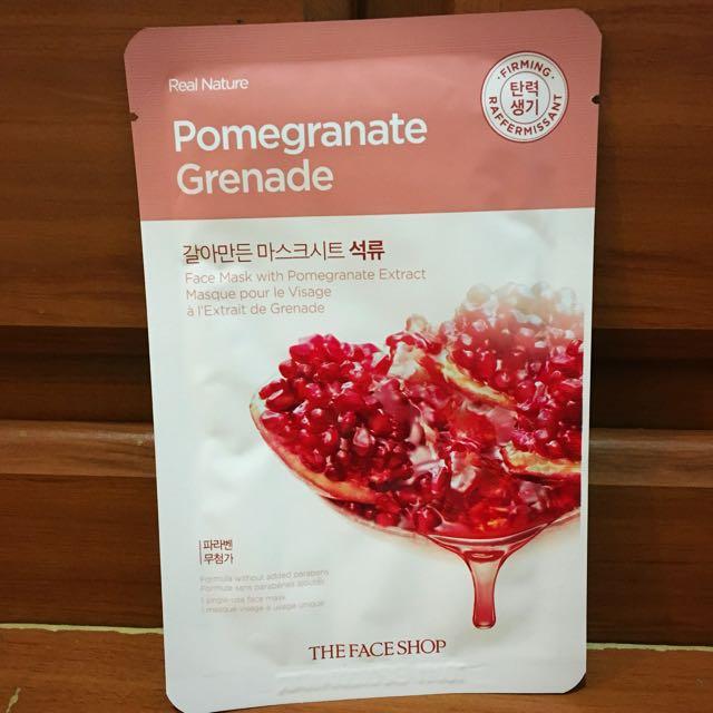 The Face Shop Pomegranate Sheet Mask