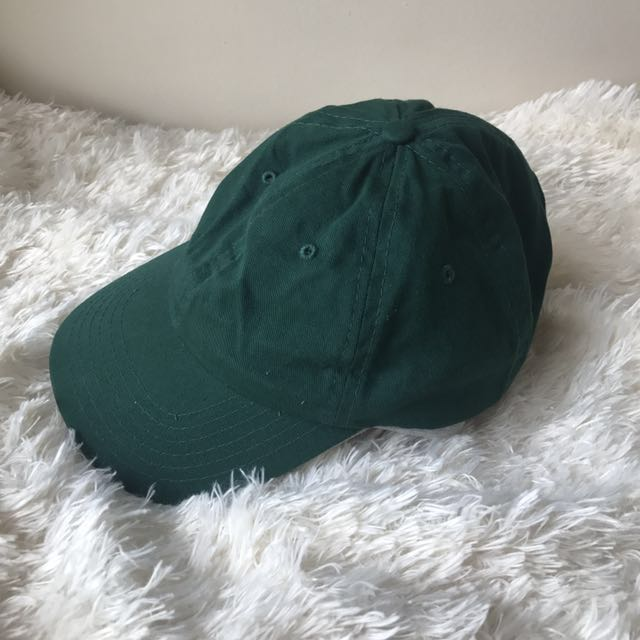 Urban Outfitters Hunter Green Baseball Cap Forest Hat UO