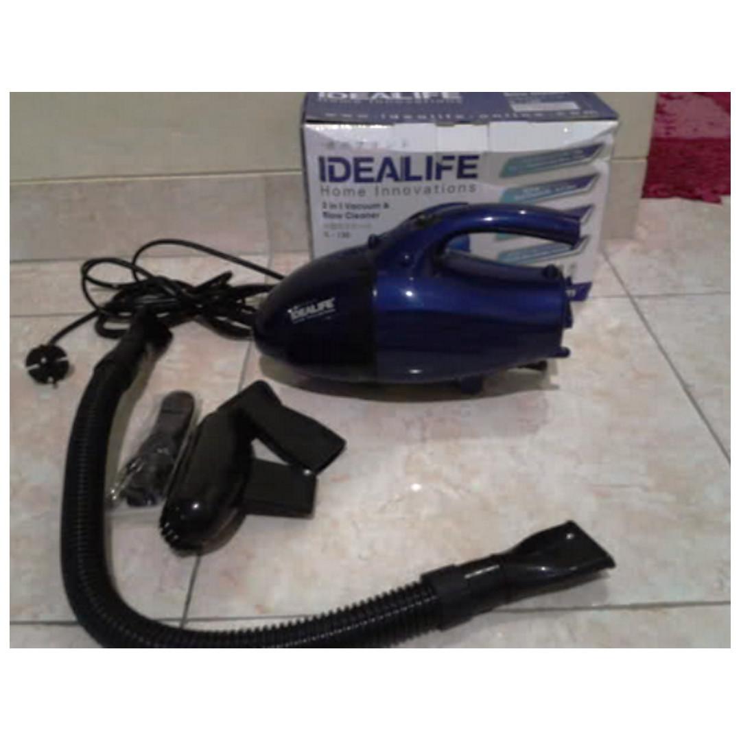 Vacuum Cleaner Mini Alat Penyedot Debu Kecil IL-130 Idealife Biru, Serba Serbi di