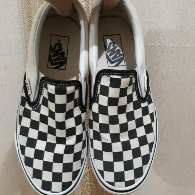 AUTHENTIC Vans Checkboard Slip-on