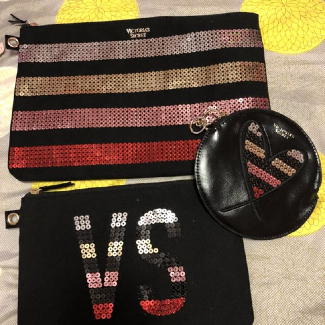 Victoria's Secret 3-Piece Pouch Set