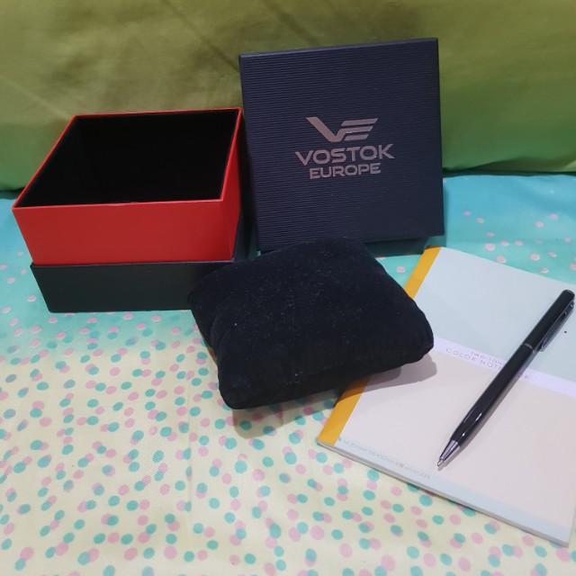 Vostok europe watch box