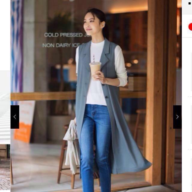 2cbd3e890a WOMEN HPJ Ribbed Mock Neck Long Sleeve Tunic (Uniqlo)