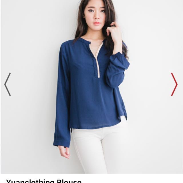 [Yuanclothing] blouse S (up to L)