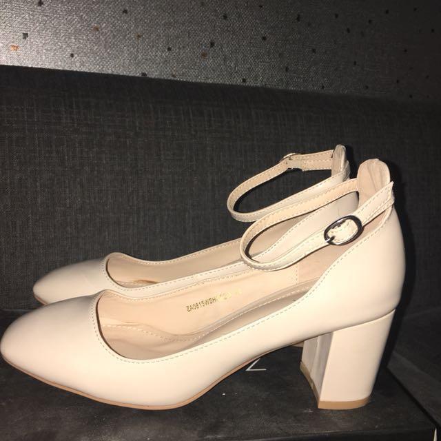 Zalora Nude Heels Size 41
