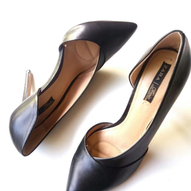 Zara pointy heels sz 38