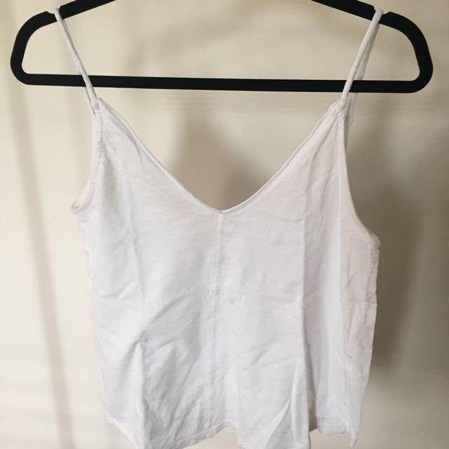 Zara white singlet