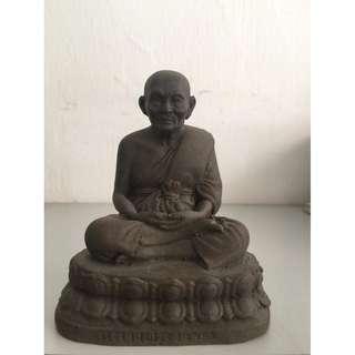 Aj Nong Wat Saikow Mini Bucha LP ThuadNur Herb Wahn (Height 10.5cm x Base 8.5cm)