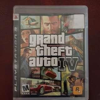 Blu-Ray Disc Sony PS3 Grand Theft Auto IV / GTA 4