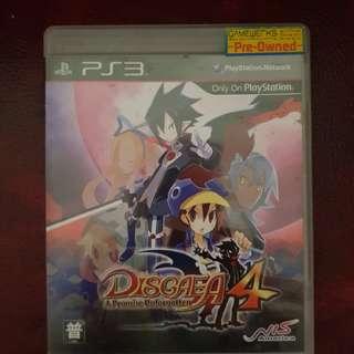 Blu-Ray Disc Sony PS3 Disgaea 4