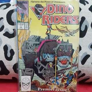 (1989) #1 Marvel Comics DINO RIDERS