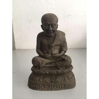 Aj Nong Wat Saikow Mini Bucha LP ThuadNur Herb Wahn (Height 13cm x Base 8.5cm)
