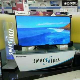 "Cicil Tv Panasonic 55"" Free Home Teater Bunga 0%"