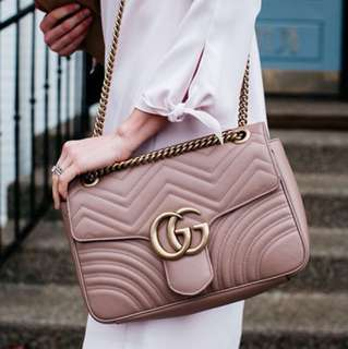PO BNIB Gucci Marmont Flap Bag