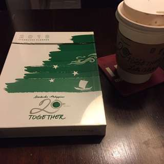 Brand New Starbucks Planner