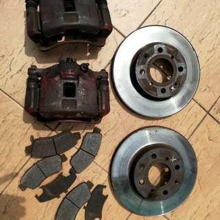 Honda ej ek standard Disc brake n caliper
