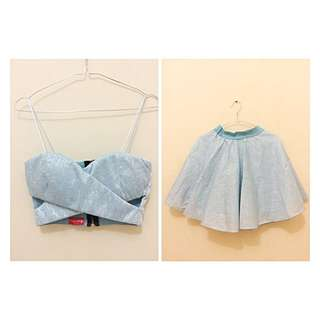 Crop Top & Skirt (Set)