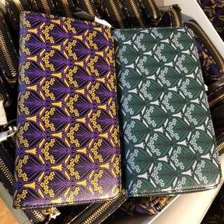 英國直飛 新年有新銀包用 - 英國名牌Liberty長銀包(紫或綠)