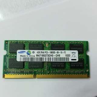 Samsung Notebook 4G ram