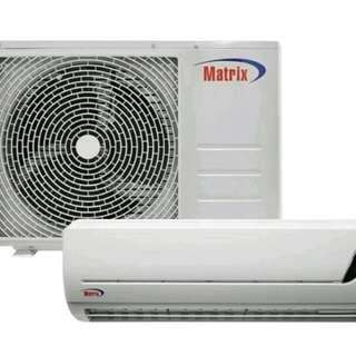 Matrix 1hp split type aircon