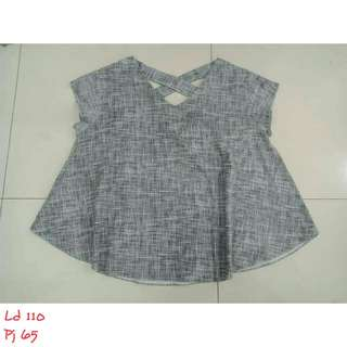 Grey big blouse